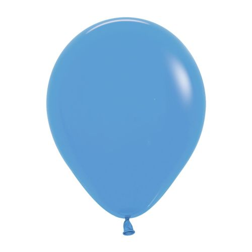 "Neon Solid Blue 240 Latex Balloons 5""/13cm - 100 PC"